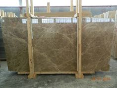 Light Emperador Slabs..