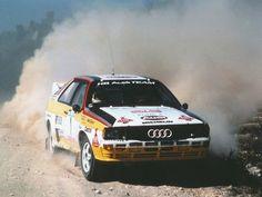 Audi Quattro Group B rally car