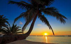 Sunset Beach Wallpaper 2880×1800 - High Definition Wallpaper | Daily Screens id-7702