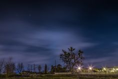 Night sky Kolejowa st by Wojtek Guzikowski on 500px
