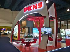Exhibition Booth | PKNS Exhibition Booth, Plumbing, Flooring, Seasons, Building, Home, Design, Seasons Of The Year, Buildings