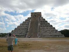 Chichen Itza's Castillo, in Mexico, Cancun.
