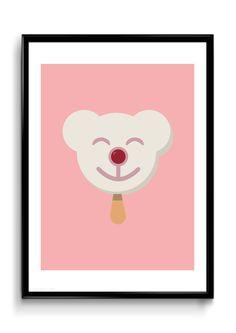 Isbjørnen er en del er is-serien lavet på god gammeldags nostalgi og nutidig glæde. Det enkle design kombineret med pastelfarverne, gør serien af gamle is ideel, både til køkkenet, stuen eller børneværelset.