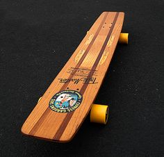 Cypress Gardens Trik Master Waterskis Al Tyll Linden Longboard Skateboard