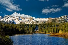 Mammoth Lakes, CA- I spent so many childhood summers here with my family and took my first ski trip here!