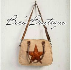 Up-Cycled Mona B Star Shoulder Bag *Please DO NOT purchase this listing. Comment below and I will create a personalized listing for you.  *Price is FIRM unless bundled. *The Starred messenger bag is crafted from quality up-cycled canvas with genuine leather drop handles and an adjustable strap. Features a leather star patch, one large slip pocket and two smaller slip pockets in the interior. Great for laptop bag or diaper bag *Material: Up-cycled truck tarps & military tents + canvas…