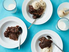 Slow Cooker Gooey Brownie Cake recipe from Food Network Kitchen via Food Network