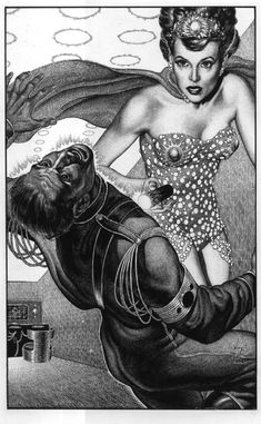 The Art of Virgil Finlay, one of the most memorable science fiction and horror illustrators from the 50's and 60's.