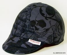 All American Hats After Dark Welding Hat or Biker Cap