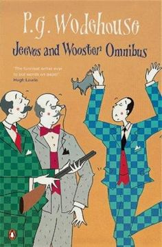 I discovered P.G. Wodehouse when I was a girl and picked up a copy at a bookseller's stall at an antiques fair. Fell in love at first read.