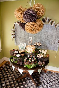 Birthday Party Planning - Woodland Style