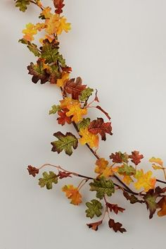 6.99 SALE PRICE! Decorate for fall with the Mini Oak Leaf Garland! This 6' garland features small oak leaves in varying sizes and colors,…