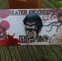 "'Dead By Dawn V.2' 1.5"" Soft Enamel Pin · Theater Of Creeps · Online Store Powered by Storenvy"