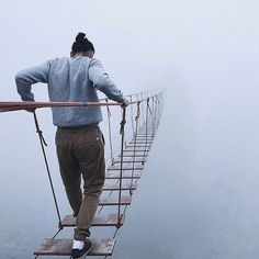 Would you dare to cross this bridge?