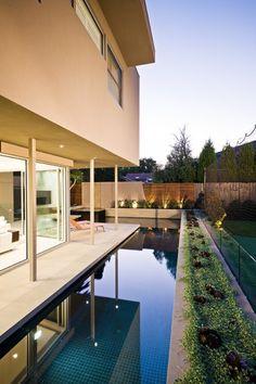 dachterrasse design-gestaltung wasseranlage-brunnen ideen-h20, Garten und erstellen