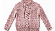 Einen Pullover mit Zöpfen zu stricken, ist etwas aufwendiger. Aber die Arbeit lohnt sich - unser Strickpulli ist ein treuer Begleiter durch den Winter. Uniqlo Women Outfit, Pullover Mode, Rosa Pullover, Oversize Pullover, Amazon Clothes, Knitting Magazine, Winter Cardigan, Baby Cardigan, Knit Cardigan