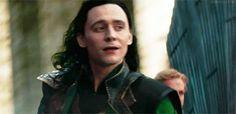 Loki. Dat look... asdfghjkl