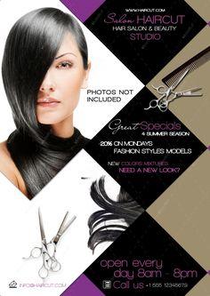 hair salon advertising flyers - Google Search | salon ideas ...