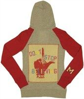 Glee Don't Stop Believing Full Zipper Hooded Junior Sweatshirt. Glee Believing Hoodie This Glee hoodie is an officially licensed, full zippered Glee hooded sweatshirt. These Glee hoodies have been screen printed with classic artwork featuring an official Glee image on the front. These Glee hoodies are usually made from heavyweight 9oz. cotton zippered hooded sweatshirt blanks for warmth, comfort and quality. Check back often for some of our newer Glee clothing and other Glee merchandise at…