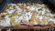 Recept Hrnkový švestkový koláč s drobenkou - Velice chutný a jednoduchý koláč