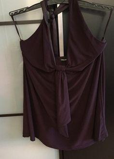 Kaufe meinen Artikel bei #Kleiderkreisel http://www.kleiderkreisel.de/damenmode/schulterfrei/116888622-tolles-lila-neckholder-shirt