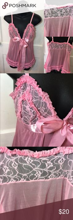 Victoria's Secret Lace Lingerie -Good condition!  -Pre loved item -I do not accept offers in the comments so please make all reasonable offers using the offer button only. :) -NO TRADES  -NO HOLDS 🚫 -I ship every Monday, Wednesday and Friday   💕Instagram- allisonsbeautyboutique 💕 Your purchase is going to help me graduate community college with as little debt as possible. Thank you! Victoria's Secret Intimates & Sleepwear Chemises & Slips
