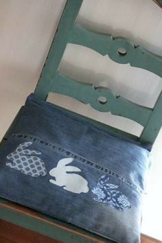 Recycled Jeans Pillow Creative Pillow Beds And