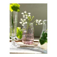 OLIK vase fra IKEA. Til den lille værtindegave, til sommerhuset eller til det festdækkede bord.   http://www.ikea.com/dk/da/catalog/categories/departments/decoration/?cid=dk|ot|pinterest|gaveideer28112013|olik_vase