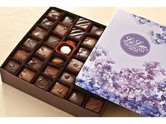 ) Inspired by European-style chocolates from the Chocolate Gift Boxes, Chocolate Fudge, Chocolate Squares, Marzipan, Coffee Drinks, Truffles, Rum, Mousse, Lilac