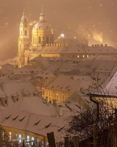 31 Pictures that Prove Prague is the Prettiest City in Europe Scenery Pictures, Winter Pictures, Cool Pictures, Places Around The World, Travel Around The World, Around The Worlds, Winter Scenery, Winter Magic, Cities In Europe