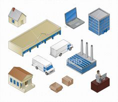 stock-illustration-6108268-doing-business-isometric.jpg (380×329)