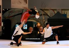 Basketball Entertainers at Exhibition http://streets-united.com/blog/entertainers-events-valletta-malta/