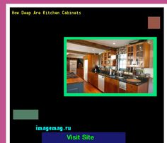 How Deep Are Kitchen Cabinets 183412 - The Best Image Search