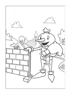 Bob the Builder Coloring Pages 35