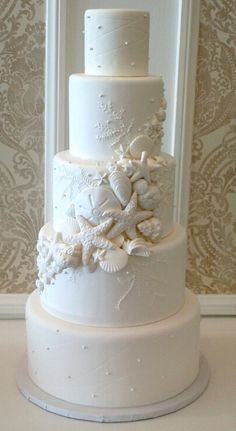 Image result for beach wedding cake ideas
