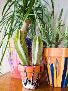 Add color and character to your garden or outdoor space with these unique, easy-to-make flower containers from HGTV.com.