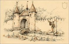 Herald Square port - Tales of the Efteling by Martine Bijl and Anton Pieck