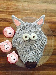 Toddler birthday- 3 little pigs