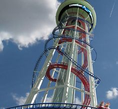 The 10 Tallest Roller Coasters in the World: Unranked: SkyScraper- 570 Feet