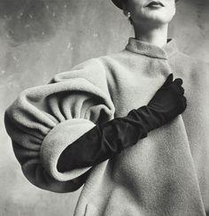 Balenciaga sleeve Irving Penn #EasyNip