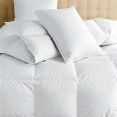 These luxurious Vienna pillows by Scandia Down are designed with the same amazing featherweight cotton batiste ticking as the indulgent Vienna comforter.  Note the exceptional fill power. This is an investment in luxury for a lifetime. FREE SHIPPING.