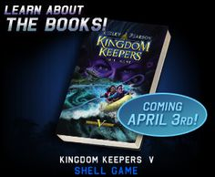 The Kingdom Keepers series is something I started reading to see if my girls would like it.  Guess what?  I liked them so much I'm the one that keeps reading them!