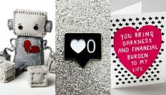 """Let the world know your stance on the whole """"Till Death Do Us Part"""" thing with these anti-valentine gifts."""