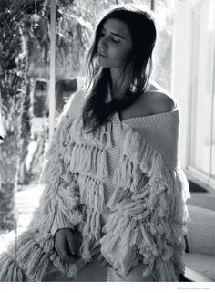 Swedish pop singer-songwriter Lykke Li poses in cozy winter looks for the latest issue of Catalogue Magazine. Captured by Nick Hudson and styled by Katie… Cozy Winter Fashion, Photo Focus, Sweater Design, Female Art, Fur Coat, Fashion Photography, Style Inspiration, Black And White, Knitting