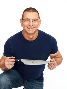 Robert Irvine is a British celebrity chef who has appeared on a variety of @Food Network programs!