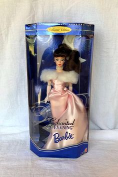 ** NIB BARBIE DOLL 1995 ENCHANTED EVENING BRUNETTE REPRODUCTION