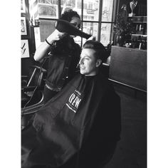 New man thanks to Men + Co. Great team offering a great service. #menandco #oscarhunt #haircut #shave #newlook #style