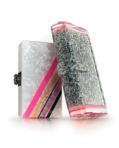 Edie Parker Confetti Clutches Neiman Marcus Blog | To Wear To Art Basel Miami Beach