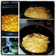 Crockpot Buffalo Chicken Pasta recipe snapshot