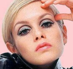 Twiggy Eye's... every day :) I worshipped Twiggy. Even got a haircut like hers. Was cute but worked soooo much better on her.